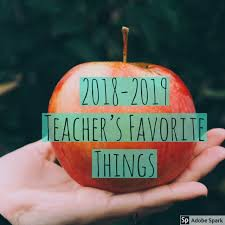 Teacher Favorites and Birthday List!