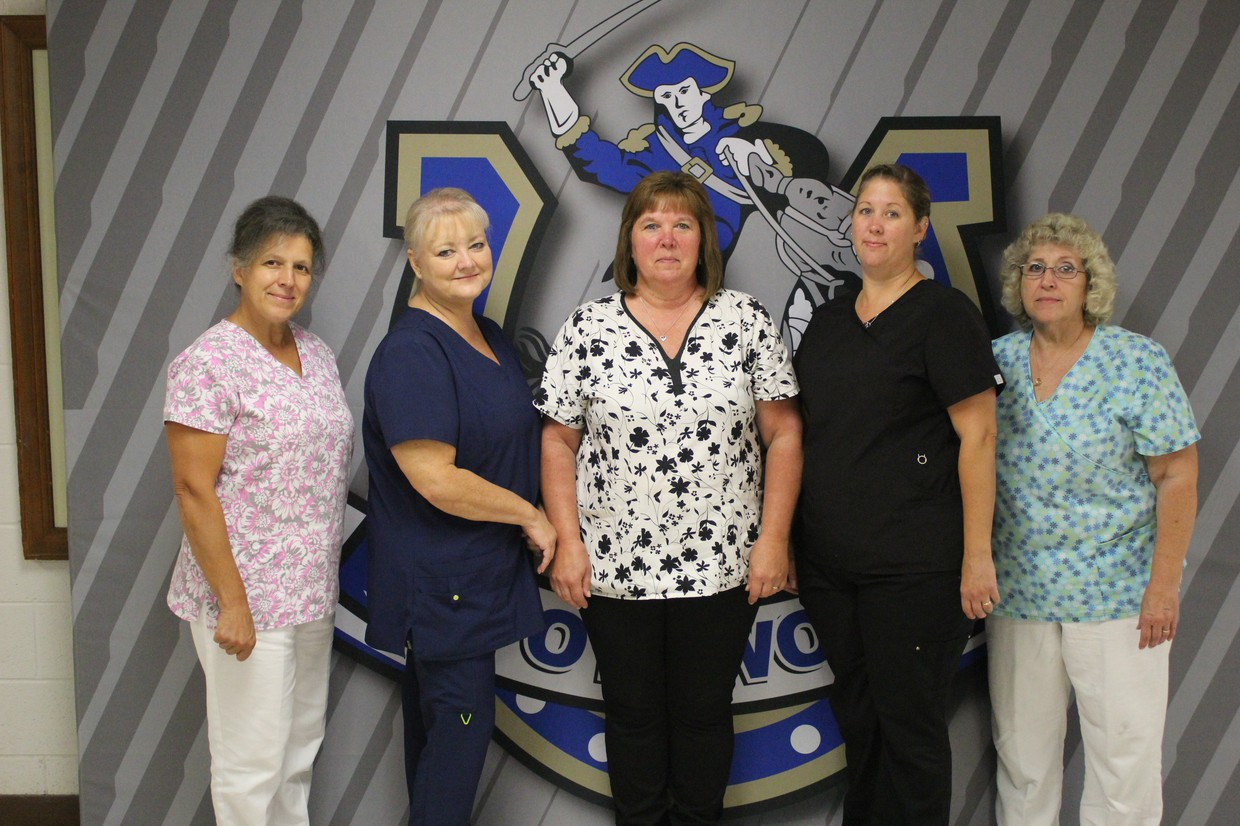 Photo of the SHS Cafeteria staff.
