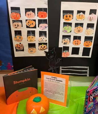 Literary Pumpkin Contest Stumpkin