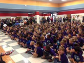 Kick Off Assembly starts off the day right!