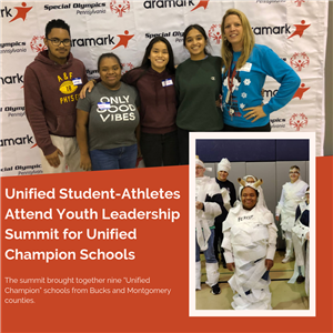 Unified Student-Athletes Attend Youth Leadership Summit for Unified Champion Schools