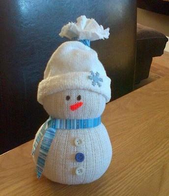 Thursday 12/7 @ 1 pm-No Sew Sock Snow Man (Mrs. Joscelyn)