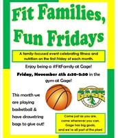 Fit Families, Fun Fridays!