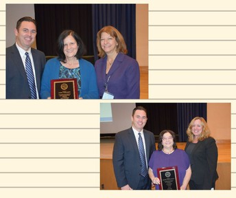 Duo Honored for Dedication to Students
