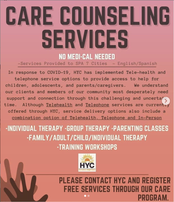 Free Counseling Services for Adults