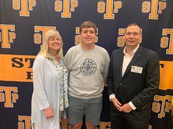 Gregory Boudreau and proud parents