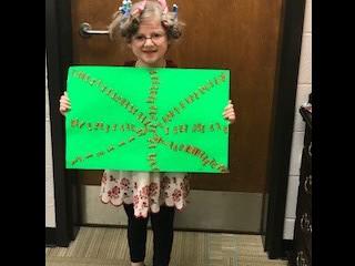 Kindergarten Celebrates the 100th Day of School