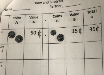 Subtracting Coins