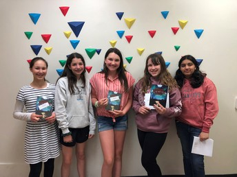 MA Students Recognized for Achievements in Math and Writing