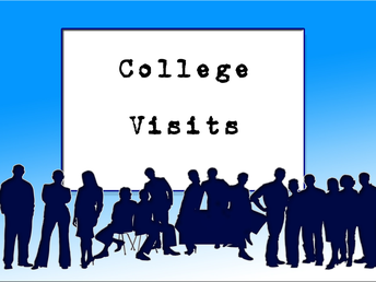 Next Week's College Visits