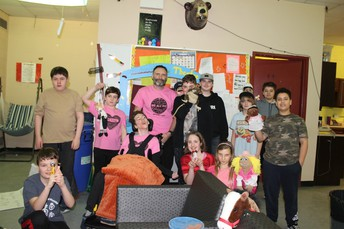 Pink day in Mr. Devine's room