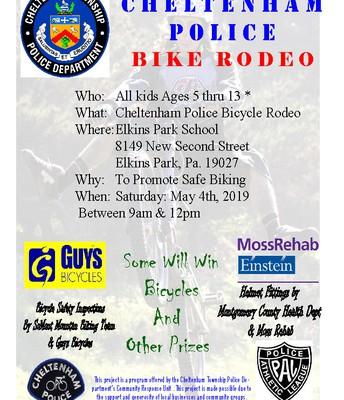 Cheltenham Police | Bike Rodeo