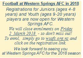 Western Springs Football AFC