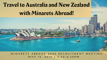Minarets Abroad Goes to Australia and New Zealand