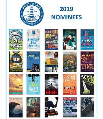 Rhode Island Middle School Book Award 2019 Nominees