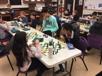PAMS Chess Team