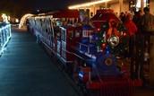 Alvin Christmas Train