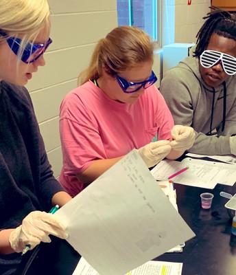 New ASIM biology lab!