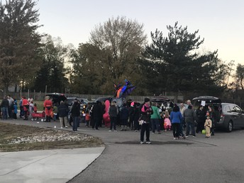 Trunk or Treats was a huge success!