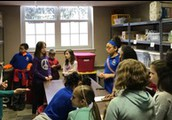 Student Leadership Team Tours Local Missions