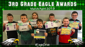 Third Grade March/April Awards