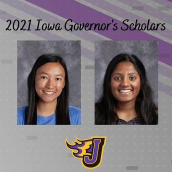Kalyanaraman, Chen Named to 2021 Iowa Governor's Scholar Program