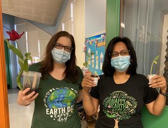 PS 149's Annex Celebrates Earth Day!
