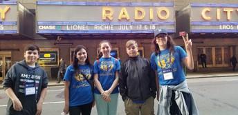 Radio City Music Hall!