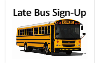 Sign up for late bus