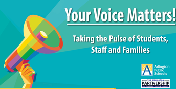 The 2020 Your Voice Matters Survey is open through February 28, 2020