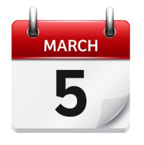 March 5th - Quarter 3 Ends Today!