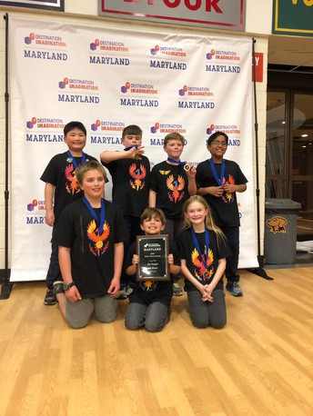 Destination Imagination Team Wins State Competition