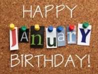January Birthdays