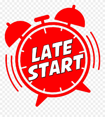Reminder:  Late Start Wed, 10-16