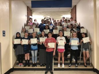7th Grade Honor Roll