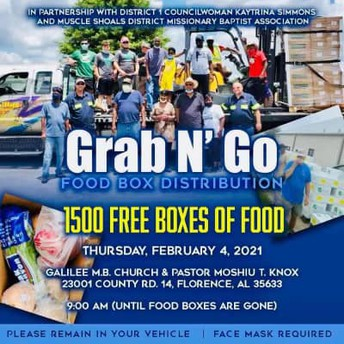 Food Distribution Boxes Are Available, TODAY!
