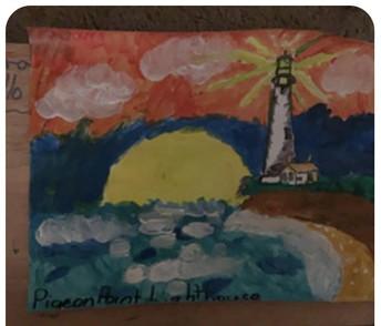 Sandra Castillo - Pigeon Point Lighthouse