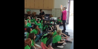 Melissa Sweet Author Visit for 3rd and 4th Grades