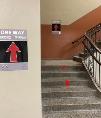 One-Way Hallways