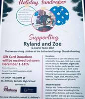 Sutherland Springs Holiday Fundraiser