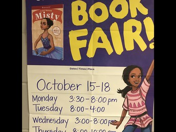 Book Fair - October 15th through th 17th