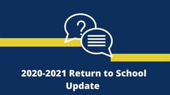 Elementary Students Return to School