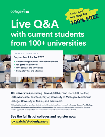 Live Q&A with College Students!