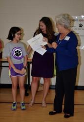Bethany Butler Receives DAR Award