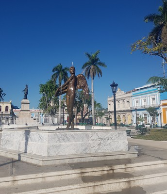 City of Matanzas downtown square view