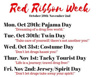 Red Ribbon Week Resources
