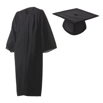 Cap and gowns arrive 5/6 at 9am