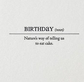 Birthdays this Week
