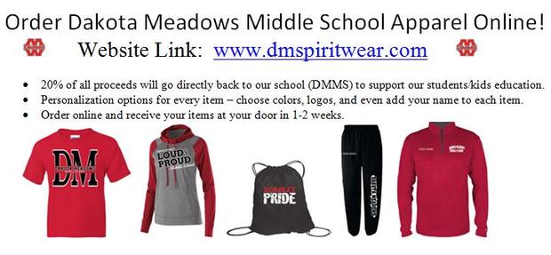 DMMS spirit wear