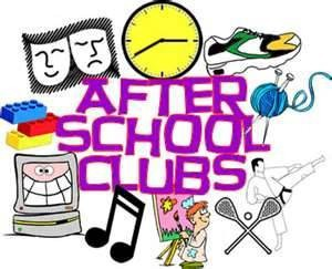SCHOOL CLUBS in MARCH 2:45PM-3:30PM